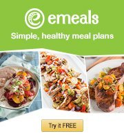 Dinner just got easier. Try eMeals FREE today.