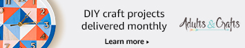 Adults and Crafts: Each craft kit includes everything you need so you can skip right to the fun part: crafting