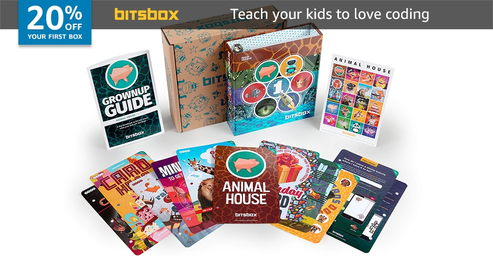 20% off your first box of BitsBox