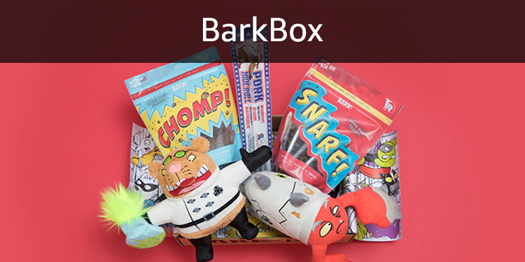 BarkBox - the best toys and treats for your dog delivered to your home