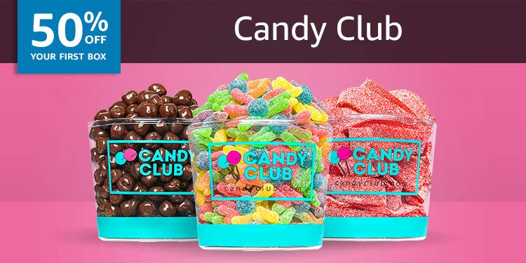 50% off your first box of Candy Club