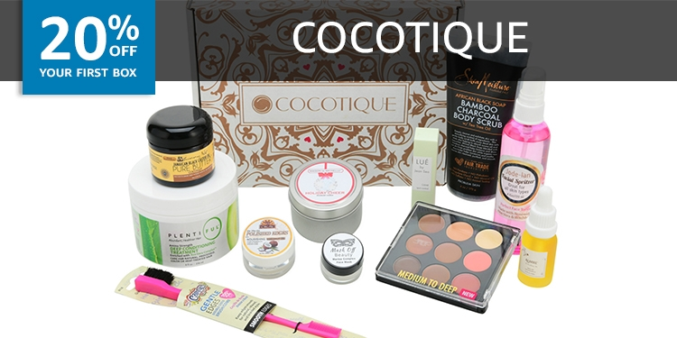20% off your first box of COCOTIQUE