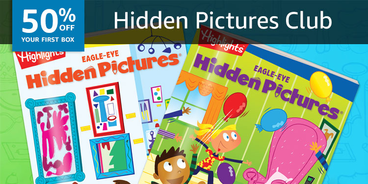 50% off your first box of Highlights Hidden Pictures