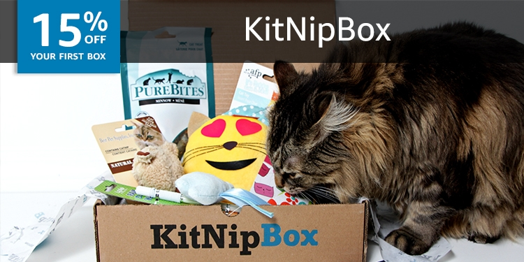 15% off your first box of KitNipBox