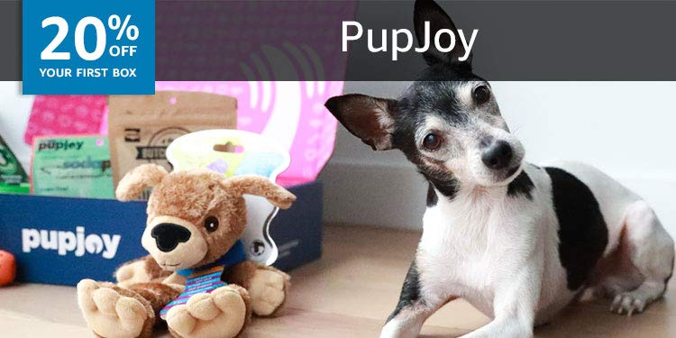 20% off your first box of PupJoy