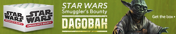 Funko Star Wars Smuggler's Bounty Box: Dogobah (February's theme)