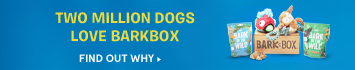 Every BarkBox includes original toys and healthy treats, and features a new theme every month to keep your dog happy. Find out why millions of dogs love BarkBox.