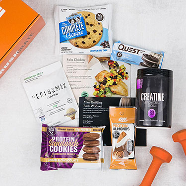 Crush Crate - Subscription Box for Bodybuilders
