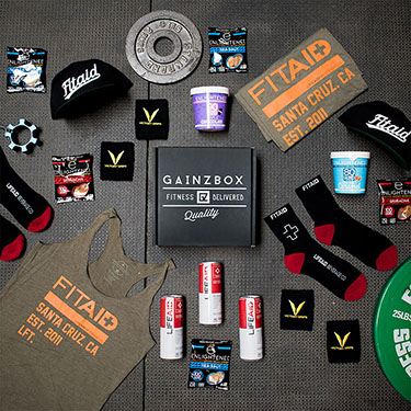 Gainz Box - Premium Fitness Apparel, Gear, and Consumables Subscription Box