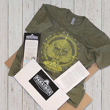 ParaBox Monthly - Paranormal Mystery T-Shirt Subscription Box