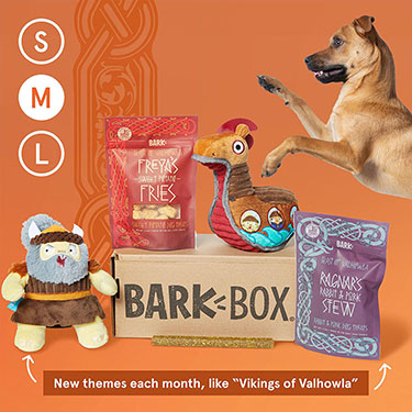 BarkBox Subscription - The Best Toys & Treats For Your Dog Every Month