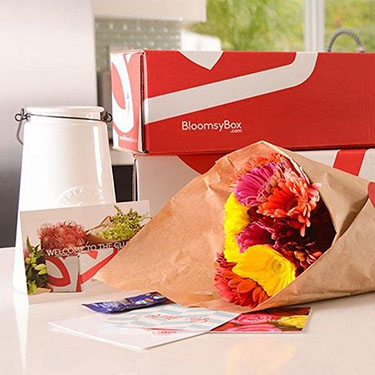 BloomsyBox - Beautiful Bouquets Subscription