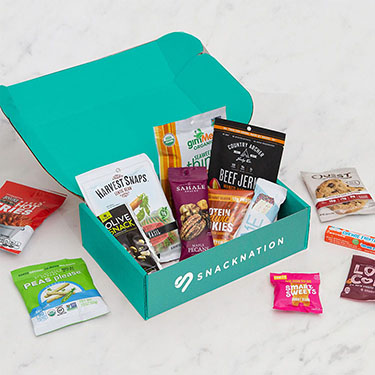 SnackNation - Expert Curated Delicious Healthier Snacks Subscription Box