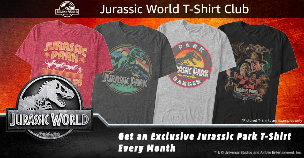 Jurassic World T-Shirt Club