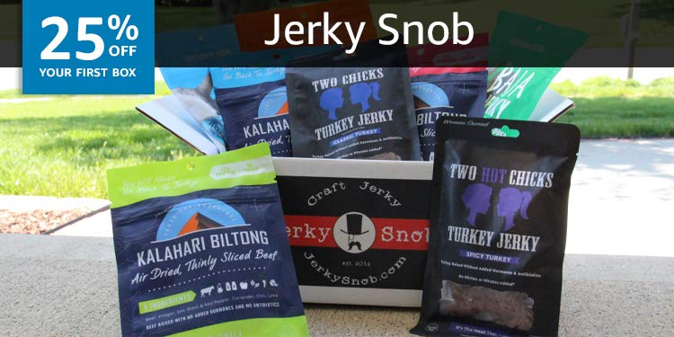 Jerky Snob - High Quality Delicious and Healthy Jerky Subscription