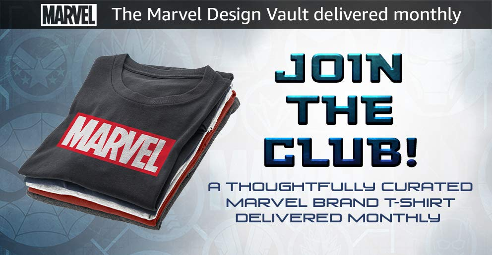 Marvel T-Shirt Club Subscription