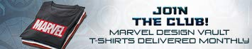 Marvel Design Vault T-Shirt Club - A thoughtfully curated Marvel brand t-shirt delivered every month! Free Shipping and Cancel Anytime.