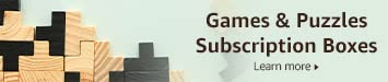 Games and Puzzles Subscription Boxes