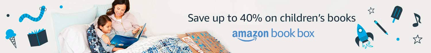Save up to 40% on children's books with Amazon Book Box
