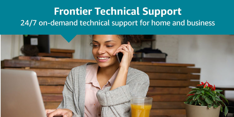 Frontier Technical Support: 24/7 on-demand technical support for home and business
