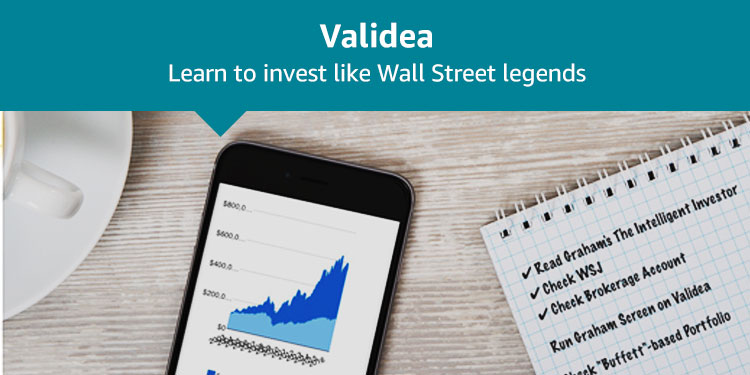 Validea: Learn to invest like Wall Street legends