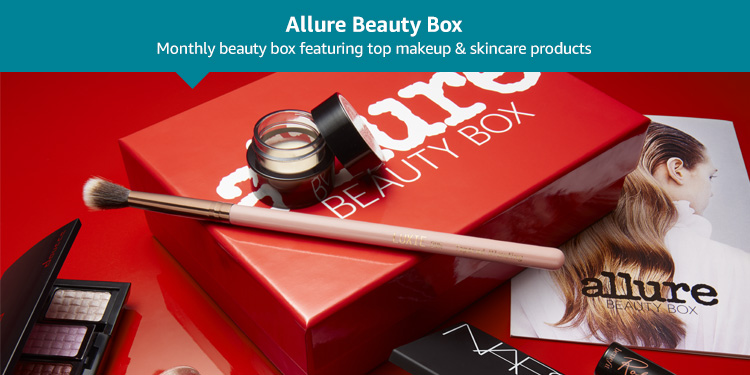 Allure Beauty Box: Monthly beauty box featuring top makeup and skincare products