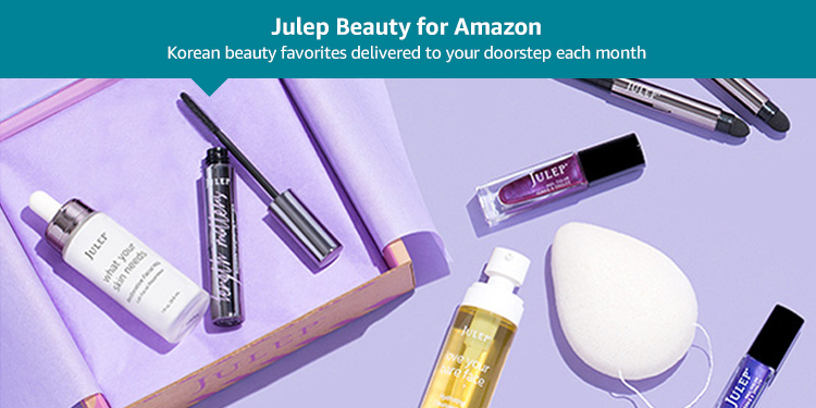 Julep Beauty for Amazon: Korean beauty favorites delivered to your doorstep each month