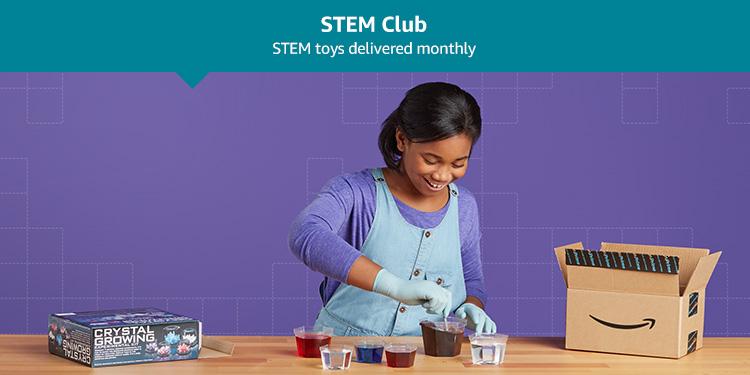 STEM Club: STEM toys delivered monthly