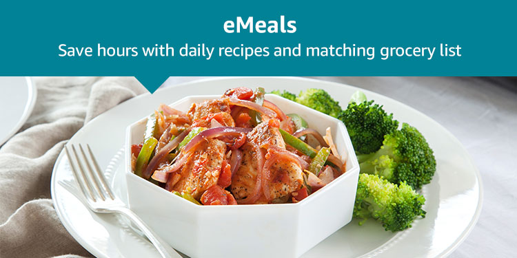 eMeals: Save hours with daily recipes and matching grocery list