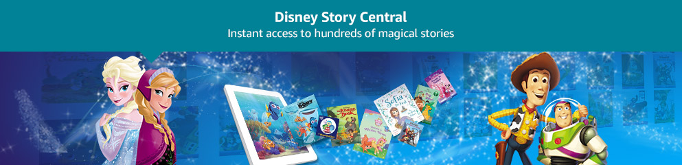 Disney Story Central: Instant access to hundred of magical stoies