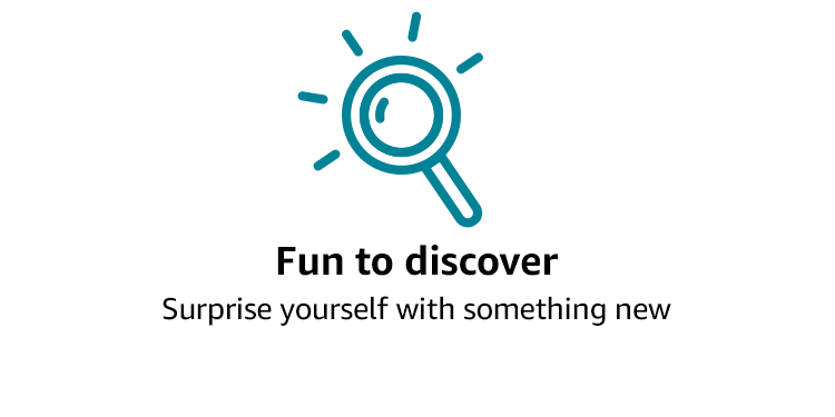 Fun to discover: Try something new. And don't like it? Cancel in a click and try another.Surprise yourself with something new