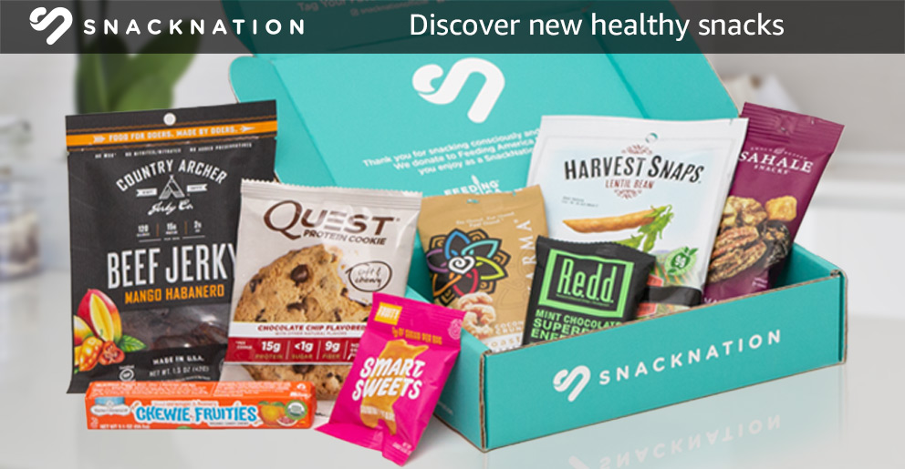 SnackNation: Discover new healthy snacks