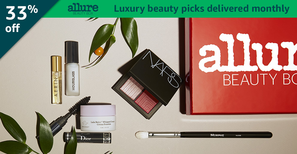 Black Friday Week: 33% off Allure Beauty Box: Luxury beauty picks delivered monthly