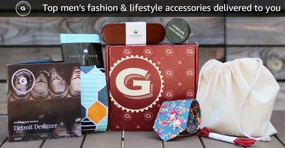 Gentleman's Box: Top men's fashion & lifestyle accessories delivered to you