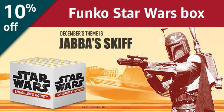10% off Funko Star Wars Smuggler's Bounty: Jabba's Skiff