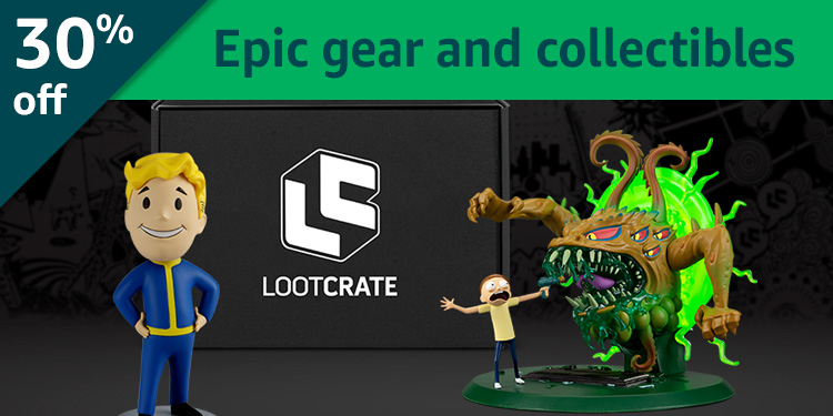 Black Friday Week: 30% off Loot Crate: Epic gear and collectibles delivered to your door
