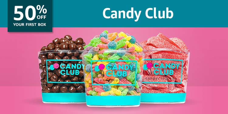 Black Friday Week: 50% Candy Club: World's best candies delivered to you monthly