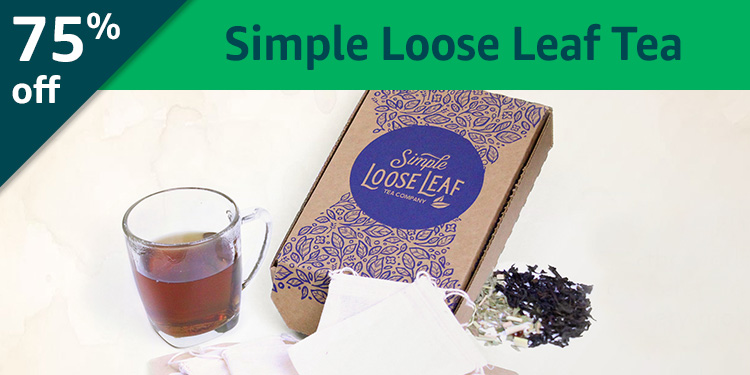 Black Friday Week: 75% off Simple Loose Leaf: Teas from around the world delivered to you