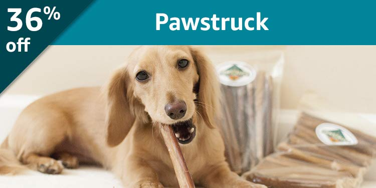 Black Friday Week: 51% off Pawstruck: Premium natural chews delivered every month