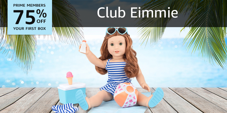 75% off your first box of Club Eimmie