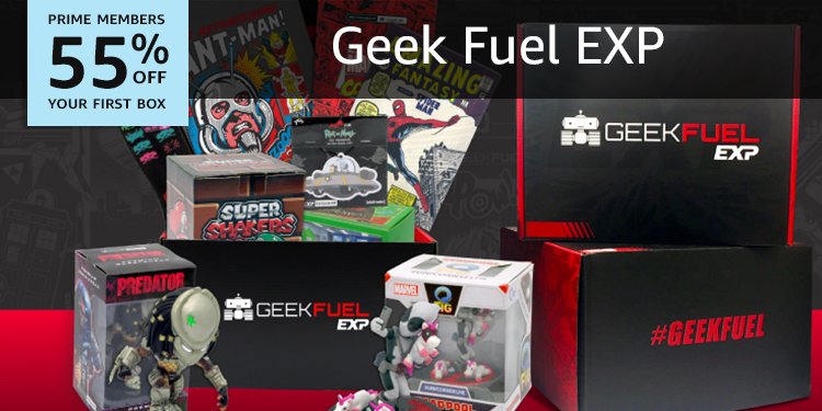 55% off your first box of Geek Fuel Exp