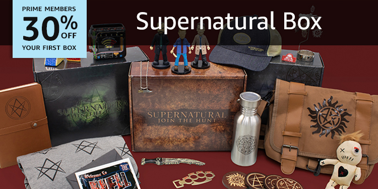 30% off your first box of Supernatural Box