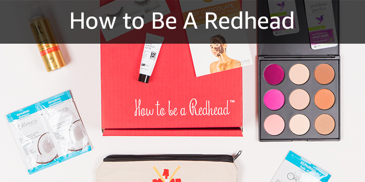 How to Be A Redhead: The H2BAR Box is a monthly beauty box for redheads