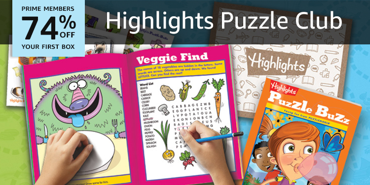 Highlights Puzzle Club - Kids Puzzle Books Subscription