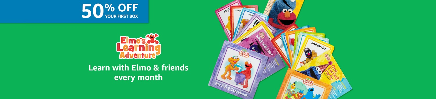 50% off your first box of Sesame Street
