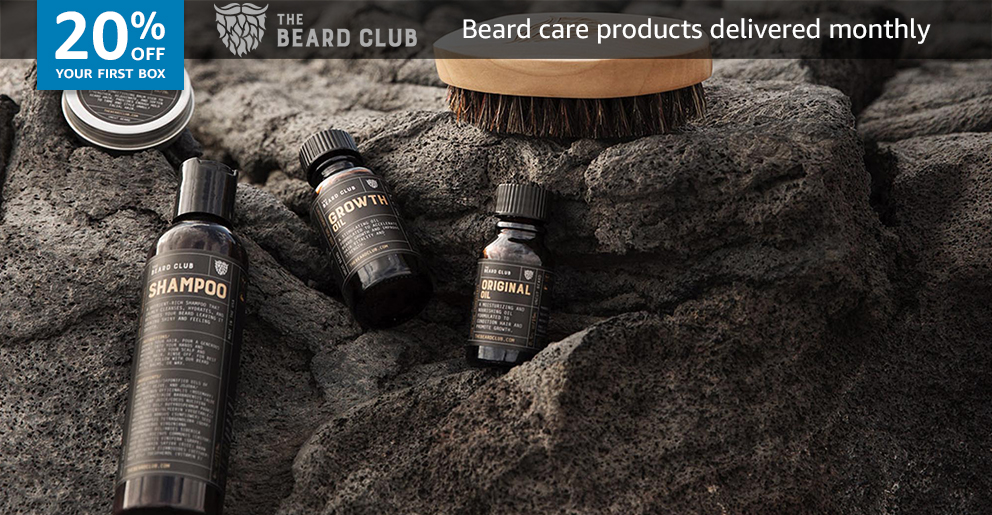 20% off your first box of Beard Club