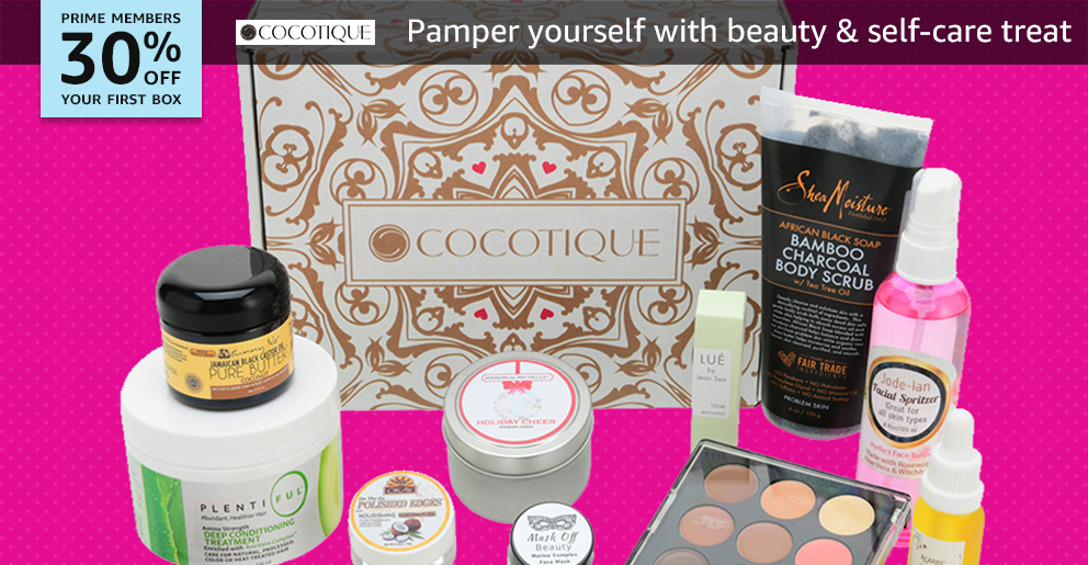 30% off your first box of Cocotique