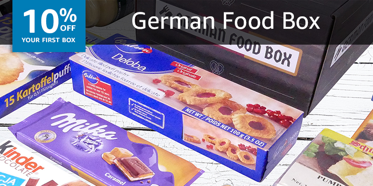 10% off your first box of German Food Box