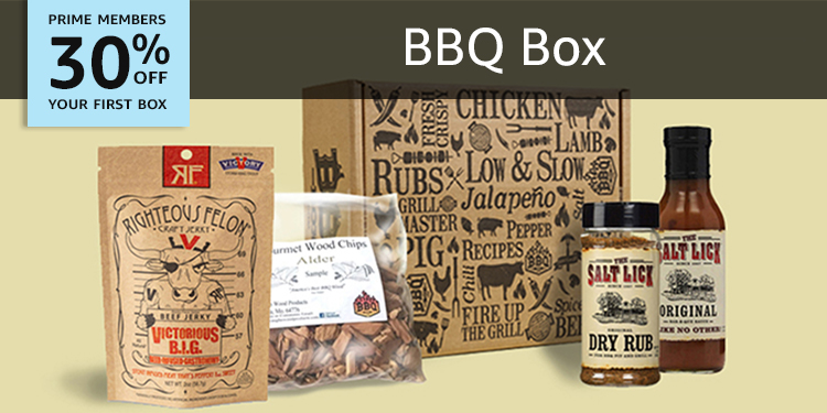 30% off your first box of BBQ