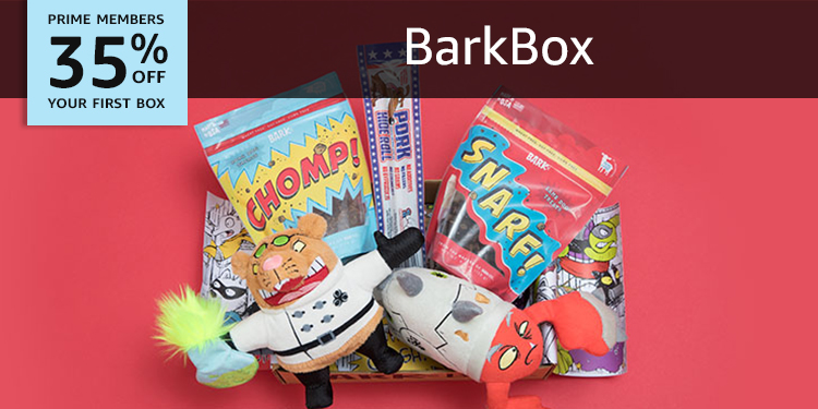 35% off your first BarkBox